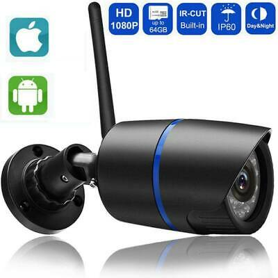 Wireless 1080P/720P HD WIFI IP Network Camera CCTV Outdoor Security IR Night UK