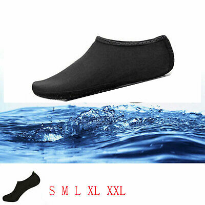 Women Men Water Shoes Aqua Sock Diving Wetsuit Non-slip Swim Beach Sea UK Stock