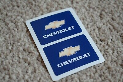 CHEVROLET Racing Motorsport Race Rally Car Race Decal Stickers Logo Blue 100mm