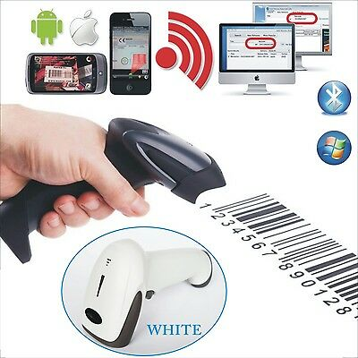 Wireless Bluetooth 4.0 Barcode Scanner Reader For Apple IOS Android Win10 Win7/8