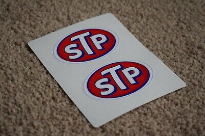STP Oil Motorsport Race Rally Car Bike Dodge USA America Decal Stickers 100mm