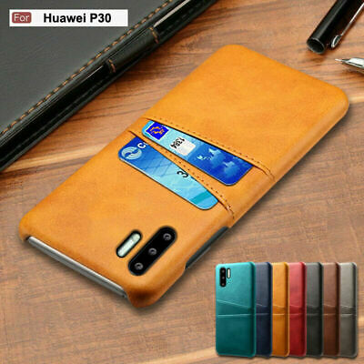 For Huawei P30 Pro/Lite Luxury Leather Wallet Case Card Slot Pocket Holder Cover
