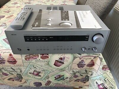 Arcam Avr100 Amplifier Surround Sound Receiver With Manual And Remote