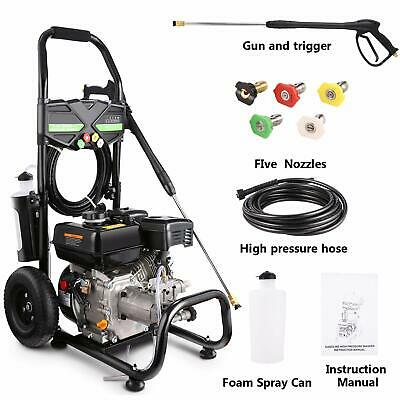 POWERSTROKE 3100PSI YAMAHA Gas Pressure Washer with 14