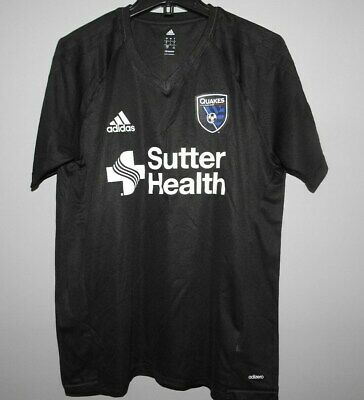 brand new 1a77c 04ccc MLS ADIDAS SAN Jose Quakes Soccer Football Jersey New Mens Sizes $55