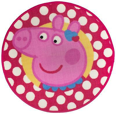 Peppa Pig Rug Tweet Polka Dot Happy
