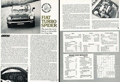 1981 1982 fiat spider turbo 2000 review report print car article j340