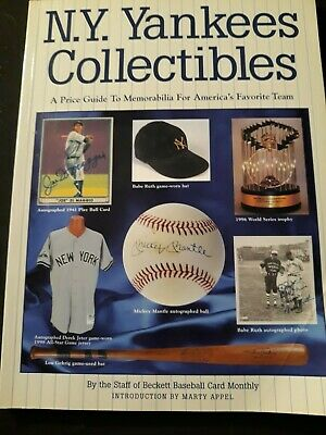 New York Yankees 1999 Collectibles Price Guide Book Beckett