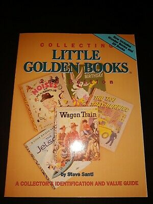 Price Guide 1994 COLLECTING LITTLE GOLDEN BOOKS by Steve Santi