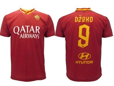Shirt Dzeko Roma 2020 Official Authentic Official 2019 Edin as Bomber