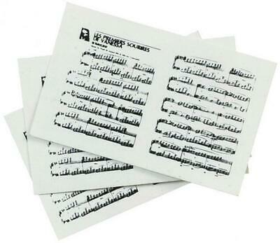 Melody Jane Dolls House Sheet Music Miniature 1:12 Scale Music Room Accessory