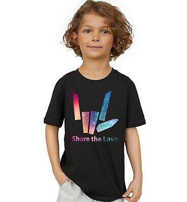 Share The Love Kids T-Shirt Stephen Sharer Merch Share The Love Tee Youth Shirt
