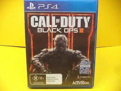 Call Of Duty Black Ops Iii  Sony Ps4 Game