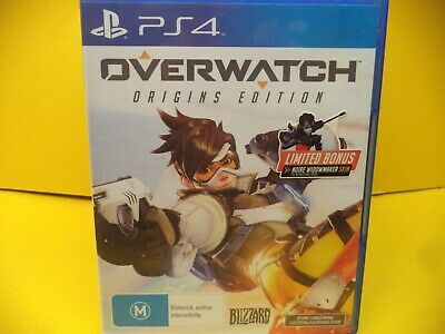 Overwatch Origins  Edition  Sony Ps4 Game