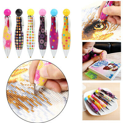 Crafts Bowling Shape Sewing Cute Diamond Point Drill Pens Embroidery Painting