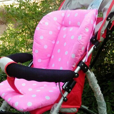 Portable Baby Stroller Polka Dot Printed Comfortable Seat Cushion Pads 5A