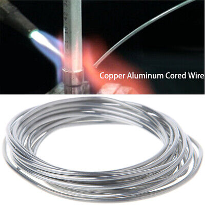 Steel Copper Aluminum Welding Rods Cored Wire Soldering Tool Weld Flux