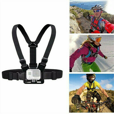 Adjustable Elastic Chest Strap Harness Mount for GoPro HD Hero Camera Holder