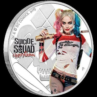 Tuvalu 1 Once Argent Suicide Squad Harley Quinn 2019 1 Aud Proof