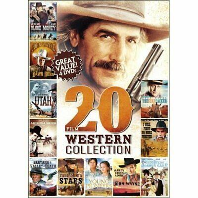 20 Film Western Collection DVD 4-Disc Set
