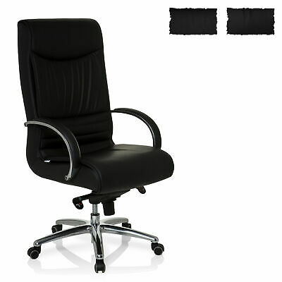Office Chair Executive Chair High Back 150 kg PU-Leather XXL F 400 hjh OFFICE
