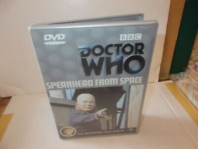 Doctor Who - Spearhead From Space - Jon Pertwee Years 1970-74 -Bbc Dvd + Booklet
