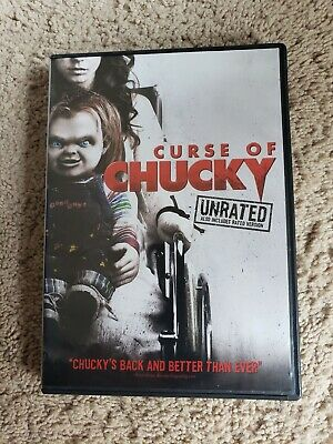 Curse of Chucky USED DVD rated and Unrated