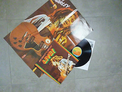 Bob Marley And The Wailers - Live!, D 1975, POSTER,  LP, Vinyl: m-