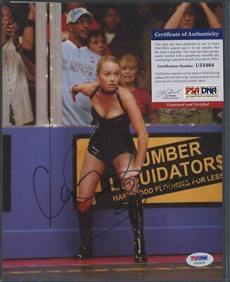 U53464 Christine Taylor Dodgeball Signed 8x10 Photo AUTO Autograph PSA/DNA COA