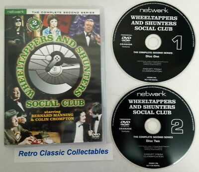 Wheeltappers & Shunters Social Club - The Complete Second Series - DVD