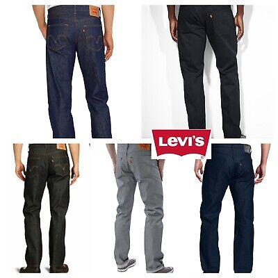 Levis 501 Shrink To Fit Button Fly Jeans Many Colors Many Sizes Denim Rigid
