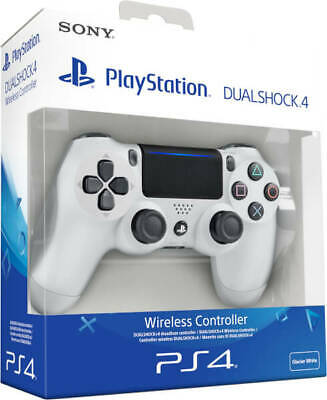 Glacier White / Official Dualshock 4 Wireless Controller for PlayStation 4 / PS4