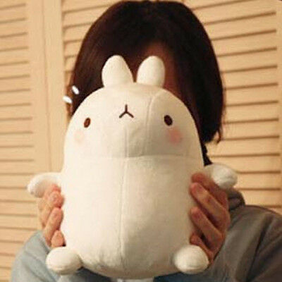 """Molang The Happy Rabbit 10"""" Cute Plush Stuffed Soft Doll Kid Girl Gift Anime Toy"""