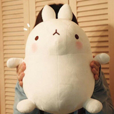 """Molang The Happy Rabbit 16"""" Cute Plush Stuffed Soft Doll Kid Girl Gift Anime Toy"""