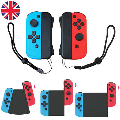 UK 5IN1 For Nintendo Switch NS Joy-Con R/L Wireless Controller Connector Grip WQ