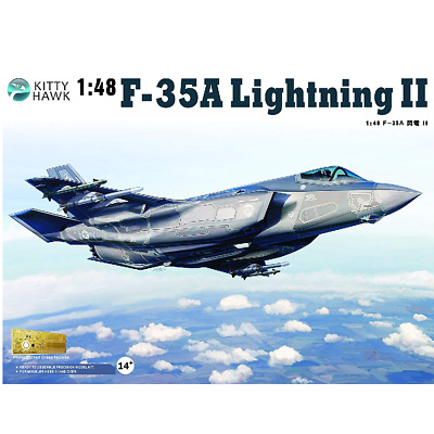 KittyHawk – 1/48 Scale – F-35A Lightning II Plastic Model Kit