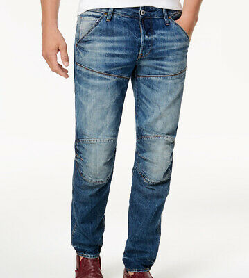 c91d4a299dc G-STAR RAW 5620 Jeans Deconstructed 3D Slim Fit Low Tapered Size 36 Inseam  30