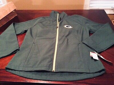 b7a9b60e NWT GREEN BAY Packers NFL Soft Shell Jacket Men's Green MSRP 79.99 ...