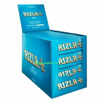 Rizla Blue Standard Small Size Genuine Regular Smoking Paper Booklets