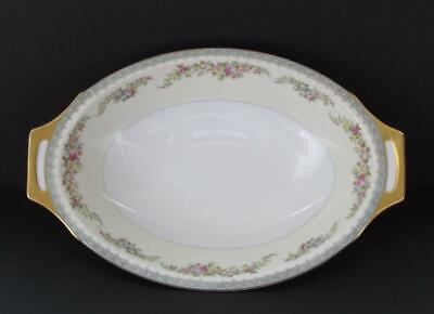Vintage Meito China MEI339 Hand Painted Oval Vegetable Serving Bowl Dish
