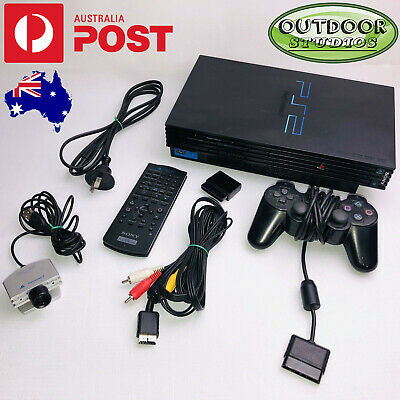 Sony Playstation 2 Original Fat Console Bundle With Lots Of Extras Fully Tested