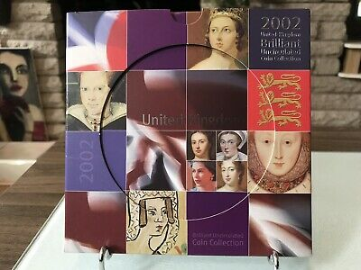 2002 Uk Brilliant Uncirculated Coin Collection
