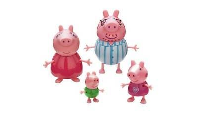 Peppa Pig Family Figures Scaled For Play With Many Of The Other Little 4 Pack_UK