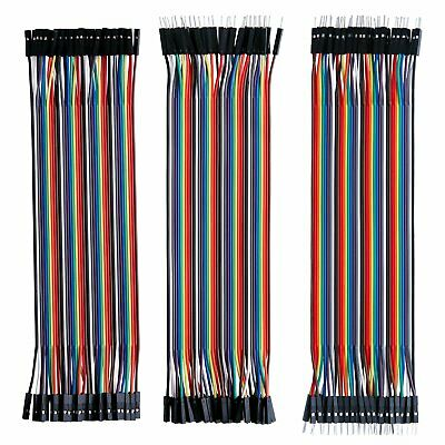 Dupont Wire for Arduino 120pcs Multicolored VANYE Breadboard Jumper Wires Ribbon