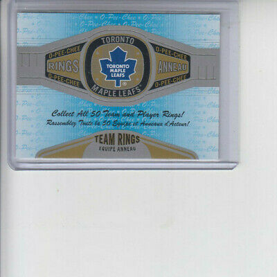 13/14 OPC Toronto Maple Leafs Team Rings card #R-27