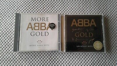 Abba - Gold Ltd Edition Signature Issue + More Abba Gold 2 x CD Albums