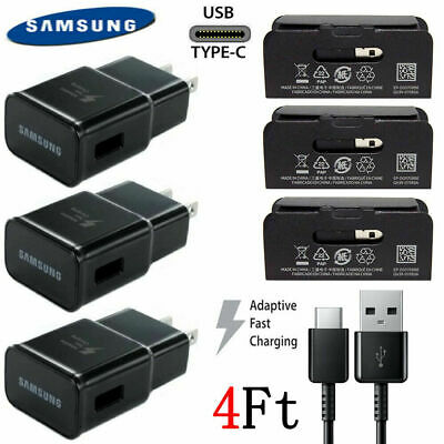Original Adaptive Fast Rapid Charger For Samsung Galaxy S8 S9 Plus Note 9 Cable