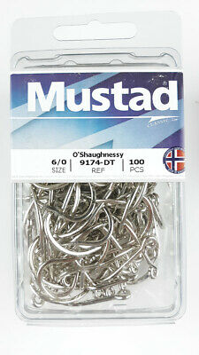 DURATIN HOOK 8 Pcs. MUSTAD 9174-DT  5//0 old 9175D