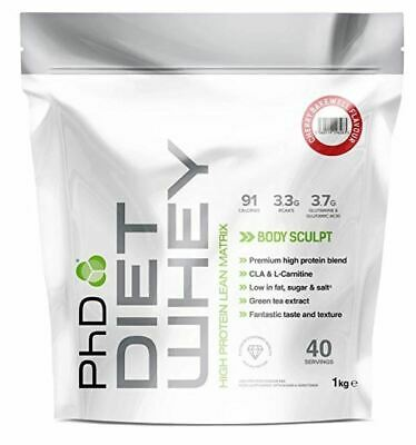 PhD Nutrition Diet Whey Lean Protein in Delicious Flavours | 1kg | 40 servings