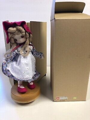 Vintage Japanese Girl 1960s Musical Mid Century UCTCI Japan In Original Box! S1